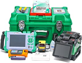 Core-Core Alignment Fusion Splicer GX37+QX50-S SM1310/1550 nm 32/30dB OTDR+Optic Power Meter+Light Source+VFL 1MW with cleaver (With QX50-S 1310/1550nm,32/30dB incl.VFL)