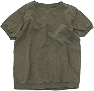 NEEDLE WORKS ピグメント染めパフ袖Tシャツ