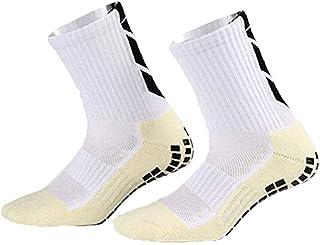 Hailouhai, Calcetines de fútbol antideslizantes, unisex, con agarre de goma, para fútbol, baloncesto, béisbol, yoga, correr, senderismo, senderismo