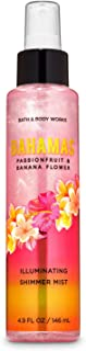 Bath and Body Works Bahamas Passionfruit & Banana Flower Illuminating Shimmer Mist
