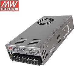 Mean Well SP-320-12 Power Supply, Single Output, 12 Volt, 25 Amp, 300 Watt, 8.5