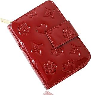 【2020年モデル】二つ折り 財布 レディース 大容量 ミニ ブランド 財布 使いやすい 小銭入れ カード14枚収納 レゼントBOX 付き 1年間有効保証書