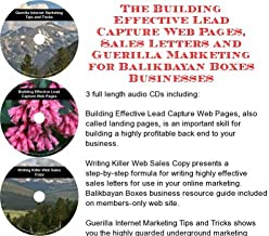 The Guerilla Marketing, Building Effective Lead Capture Web Pages, Sales Letters for Balikbayan Boxes Businesses
