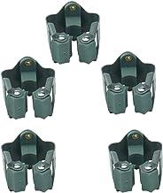 Ogrmar 5 peças suporte de esfregão e vassoura para parede, prateleira de armazenamento de jardim/organizador de parede par...