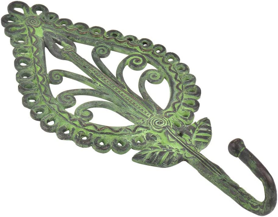 IndianShelf Handmade 1 Piece Bargain sale Black Brass Parsely D Tribal Factory outlet Ornate