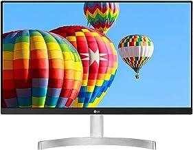 "LG 24MK600M-W - Monitor FHD de 60,4 cm (23,8"") con Panel IPS (1920 x 1080 píxeles, 16:9, 250 cd/m², NTSC >72%, 1000:1, 5 m..."
