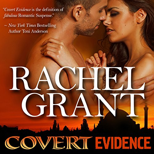 Covert Evidence audiobook cover art