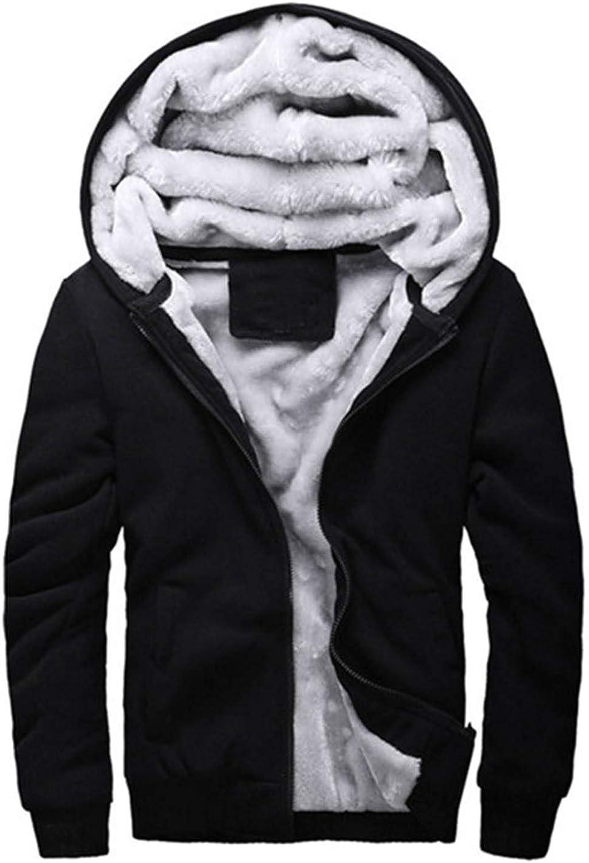 51f8217ae Dextrad fashionhoodies Men Winter Jacket Thick Hooded Sweatshirt Warm Fur  Liner Sportswear Tracksuits