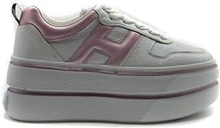 Luxury Fashion | Hogan Women MCBI39518 White Leather Sneakers | Season Outlet