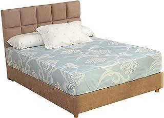 طقم ملاية سرير بطبعة دمشقية من المأمون، 3 قطع، 240 × 180 سم - متعددة الالوان