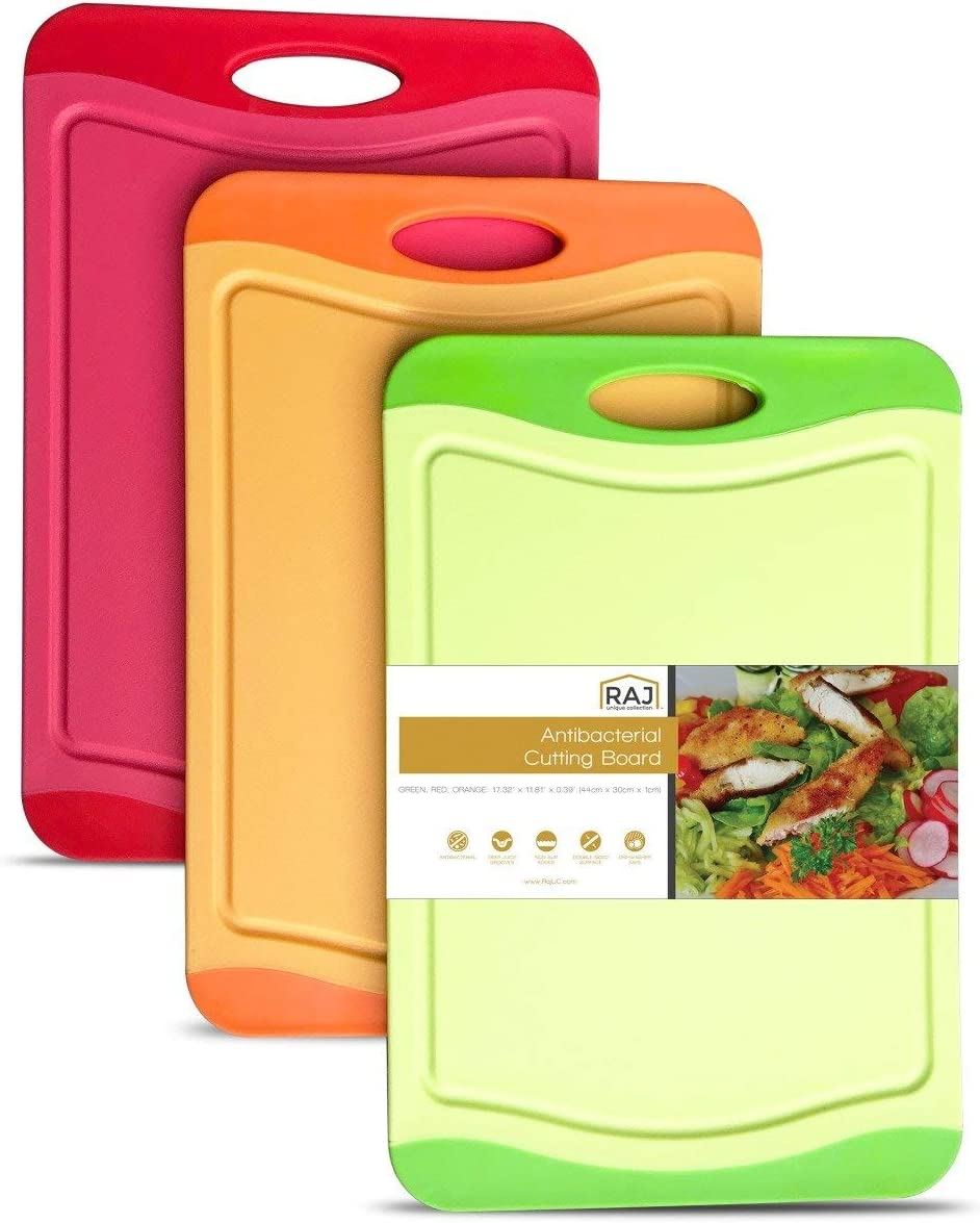 Raj Reservation Plastic Cutting excellence Board S board Reversible Dishwasher