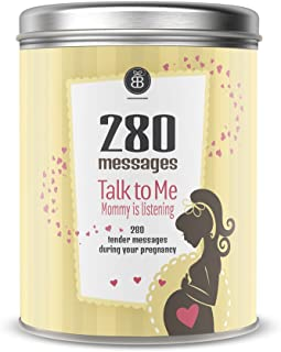 Talk to Me Mommy is Listening 280 Messages During Your Pregnancy