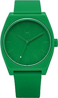 ساعة اديداس للرجال عملية Sp1 Z10 2905-00 خضراء كوارتز سليكون