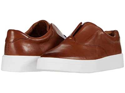 Clarks Hero Step (Tan Leather) Women