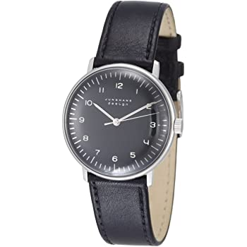 Junghans MAX BILL Hand Wound Black Dial Numerals 027/3702.00