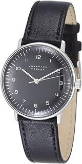 JUNGHANS - MAX Bill 027/3702.00 - Reloj de Caballero automático, Correa de Piel Color Negro