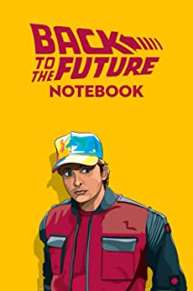 Back to the Future Notebook: Notebook|Journal| Diary/ Lined - Size 6x9 Inches 100 Pages