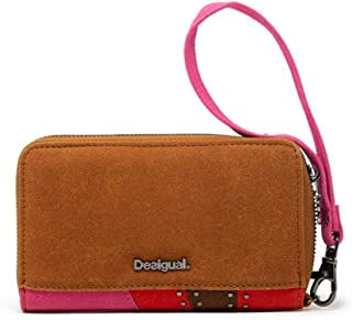 Luxury Fashion | Desigual Womens 19WAYP21BROWN Brown Wallet | Fall Winter 19