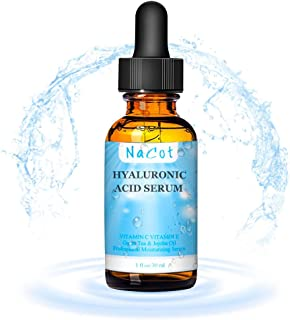 MAYCREATE® Anti Wrinkle Anti Aging Hydrating Moisture Hyaluronic Acid Serum for Face-Hydration, 1 Oz