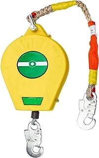 ポータブル自己格納式ライフライン、落下保護格納式ツール ストラップ、フック付き、ケーブル直径 3.2 mm、建物建設用の個人用保護具、荷重 330 ポンド