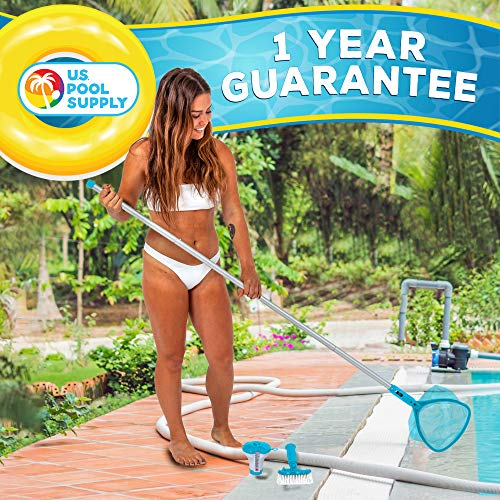 U.S. Pool Supply Professional Heavy Duty Spa, Hot Tub, Pond Cleaning