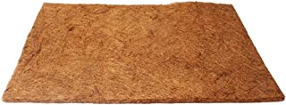 POPETPOP Alfombra de Reptil, Esterilla en Fibra de Coco, Sustrato de Arena para Reptiles Lagartos Tortugas Serpientes, 50 x 30 cm