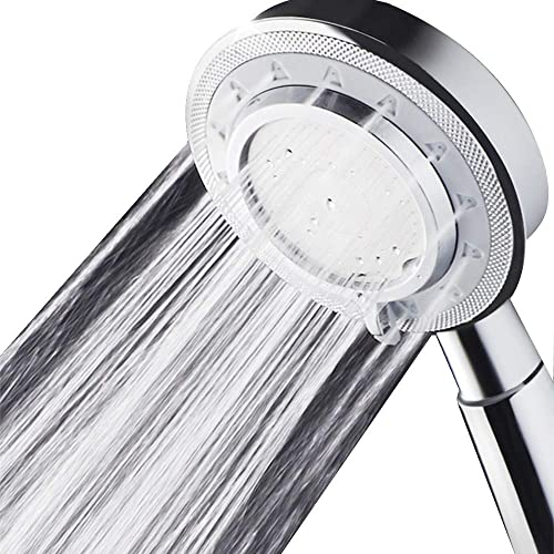 Nosame® Shower Head,Universal Bath Shower Water Saving High Pressure 3 Mode Function Spray Showerheads for Dry Skin & Hair