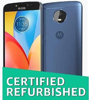 (Renewed) Motorola Moto E4 Plus (Oxford Blue, 32 GB , 3 GB RAM)