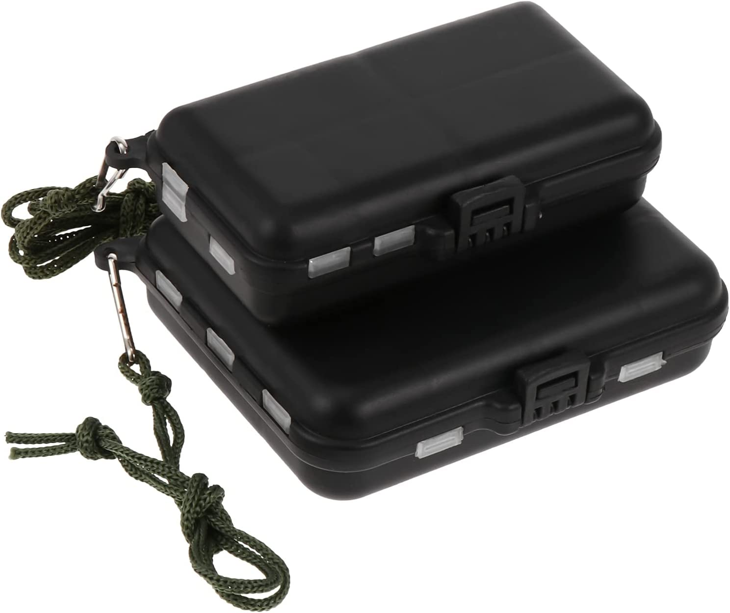 BESPORTBLE Max 44% OFF 2pcs Tackle Special price Boxes Fish Wat Compartment Storage