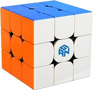 Liangcuber GAN 356 RS 3x3 Stickerless Speed Cube Gans 356RS 3X3X3 System Magic Cube (2019 Updated Version)