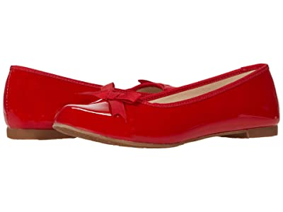 Elephantito Paris Flat (Toddler/Little Kid/Big Kid) (Patent Red) Girl
