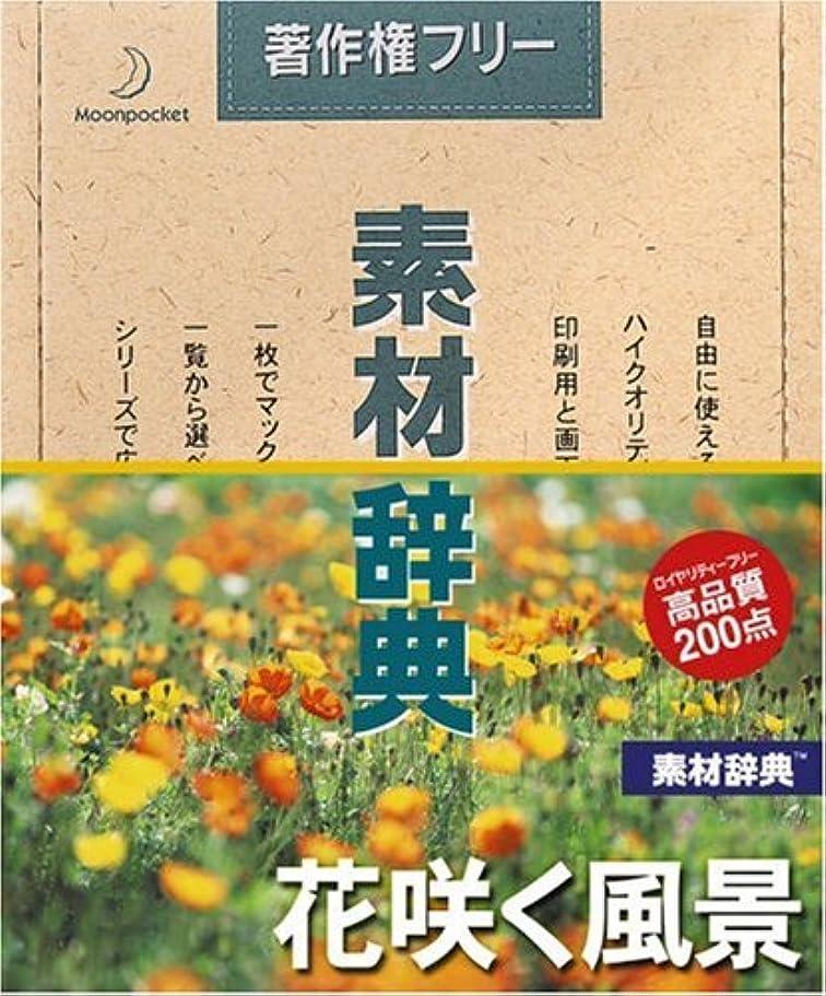 見分ける暴露宿題をする素材辞典 Vol.121 花咲く風景編