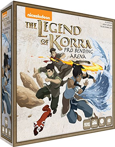 IDW Games IDW01327 The Legend of Korra-Pro Bending Arena, Brettspiel