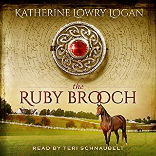 The Ruby Brooch     The Celtic Brooch, Book 1              By:                                                                                                                                 Katherine Lowry Logan                               Narrated by:                                                                                                                                 Teri Schnaubelt                      Length: 12 hrs and 36 mins     2,047 ratings     Overall 4.1