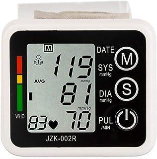 XYJCY Monitor de presión Arterial de muñeca/Monitor de presión Arterial Cuidado y Salud en el hogar Batería Seca eléctrica Automático Inflable multifunción Apagado automático Función de Memoria