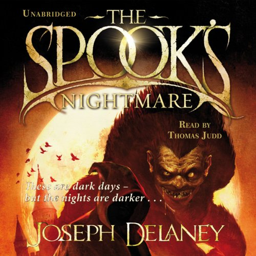 The Spook's Nightmare audiobook cover art