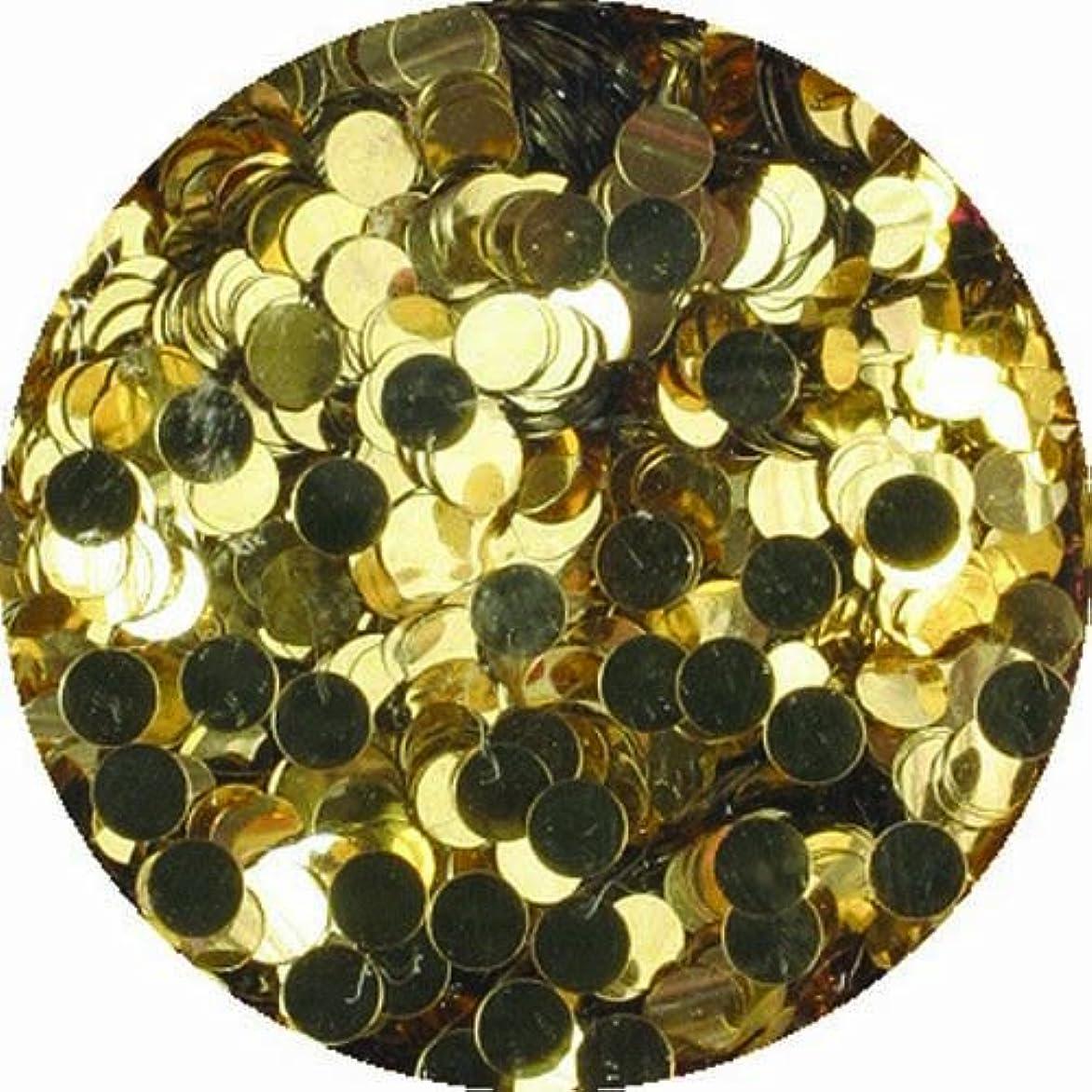 ペネロペパーティションみなさんビューティーネイラー ネイル用パウダー 黒崎えり子 ジュエリーコレクション ライトゴールド丸2mm
