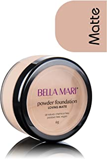 Bella Mari Natural Mineral Powder Foundation, Loving (Neutral); 0.2oz