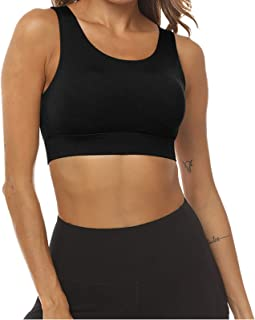 Sports Bra Elastic Seamless Yoga Wear Push Up Underwear Fitness Vest Top Hollow Back Sports Wear Breathable Yoga Vest for ...