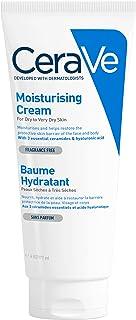 CeraVe balsam nawilżający | 177 ml | 48 h krem nawilżający do ciała, twarzy i rąk z kwasem hialuronowym do suchej i bardzo...