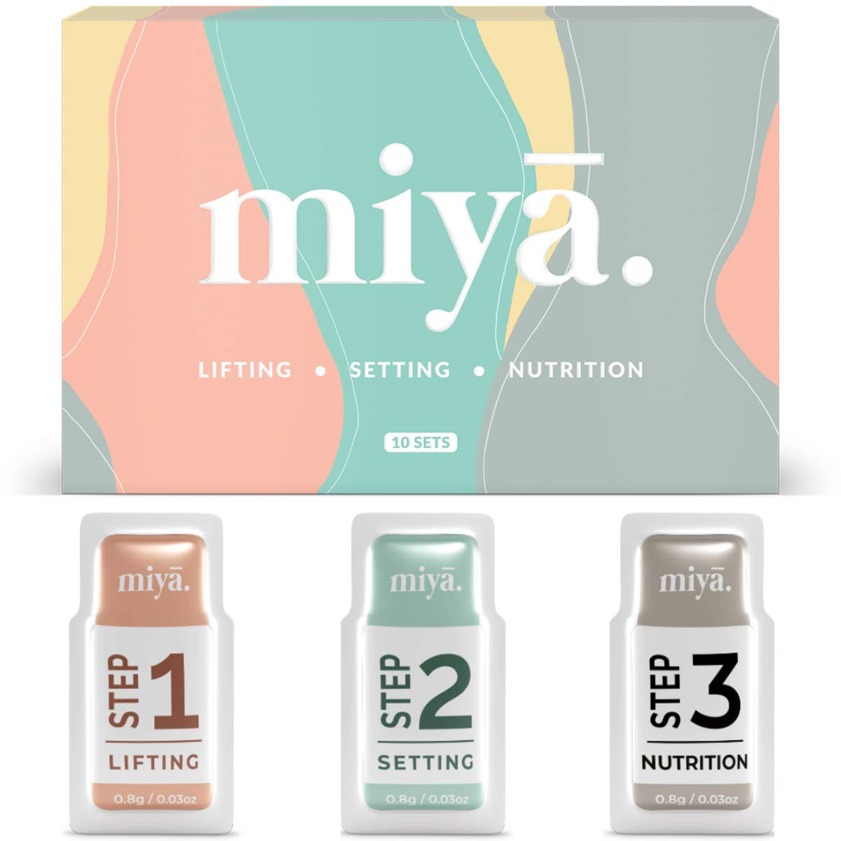 Selling and selling MIYA LASH 2 in 1 Brow Max 64% OFF Lamination Lash Lift Lotion Sachet Set
