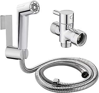 GASIA Cloth Diaper Sprayer Kit,Handheld Bidet Sprayer for Toilet,Adjustable Water Bidet Attachment of Bathroom Accessories(SET)