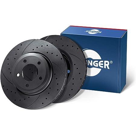 Rotinger Bremsscheiben Vorderachse 2 Teiliges Set Korrosionsschutzbeschichtung Rt 20168 Gl T5 Auto