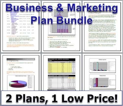 BBQ Restaurant Pork Smoker Grill BUSINESS PLAN + MARKETING PLAN = 2 PLANS!