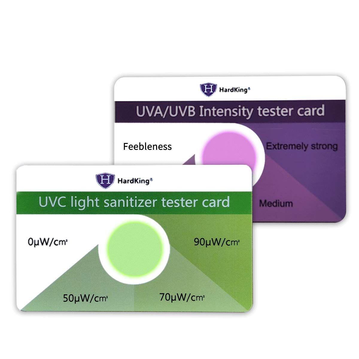 HARDKING All UV-Test Functions UVA/UVB/UVC Test Card