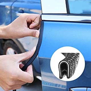32Ft//10M Car Door Edge Guards U Shape Trim Rubber Seal Protector for Most Car