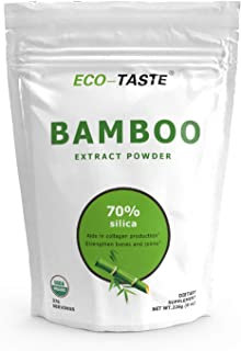 Bamboo Extract Powder - 20:1, 8 Ounce, Rich in Minerals and Silica for Healthy Hair, Skin and Joints