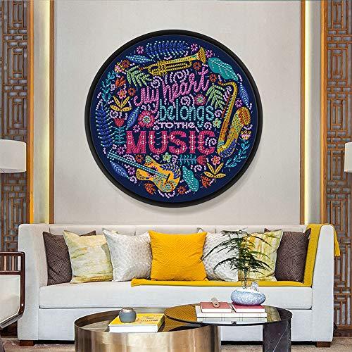 ACHICOO Home Dekorative Mandala Blume Tier Wandbild Quaste DIY Diamant Malerei Anhänger Handmade Craft YKH94