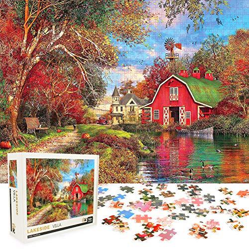 Sinoeem Puzzle 1000 Piezas, Puzzles para Adultos, Rompecabezas Adultos 1000 Piezas Puzzle Educativo Juguete Descompresión Juego Familiar (70 x 50 cm)