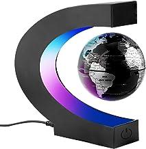 Surplex C-form Magnetische Schweben Floaten Weltkarte Globus mit Led Display Stütze,..